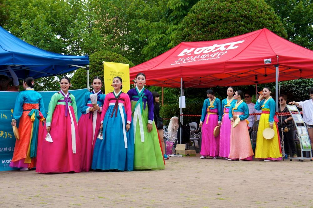 Danses traditionnelles-Corée-