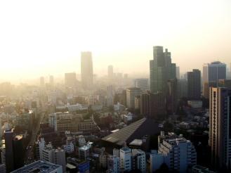 Vue de la tour de Tokyo