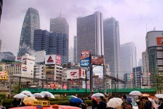 De 2008 à 2013 petite sélection de paysages Tokyoites .