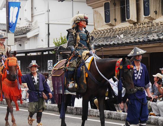 Soma nomaoi procession street fukushima festival (4)